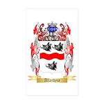 Allardyce Sticker (Rectangle 50 pk)
