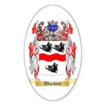Allardyce Sticker (Oval)