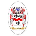 Allardyce Sticker (Oval 50 pk)