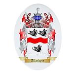 Allardyce Ornament (Oval)