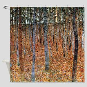 Gustav Klimt Beech Grove Shower Curtain