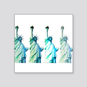 "Liberty Square Sticker 3"" x 3"""