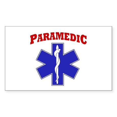 Paramedic Sticker (Rectangle)