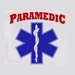 Paramedic Throw Blanket