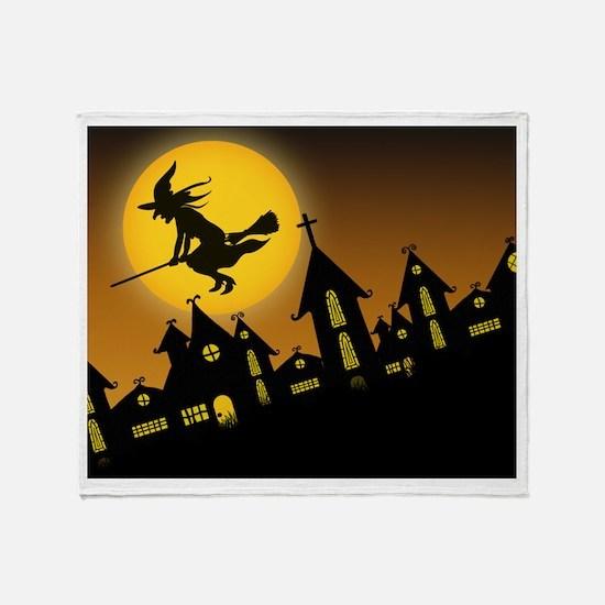Spooky Halloween 2 Throw Blanket