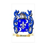 Allaway Sticker (Rectangle 50 pk)