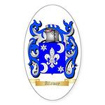 Allaway Sticker (Oval 10 pk)