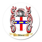 Allbers Round Car Magnet