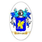 Allbright Sticker (Oval 50 pk)
