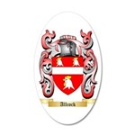 Allcock 35x21 Oval Wall Decal