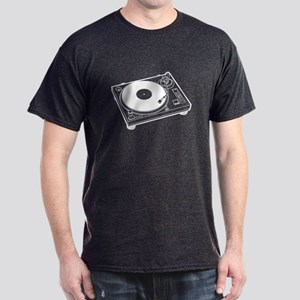 Turntable Black T-Shirt