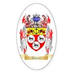 Alleine Sticker (Oval 10 pk)