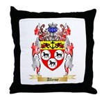 Alleine Throw Pillow