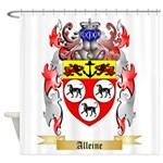 Alleine Shower Curtain