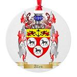 Allen Round Ornament