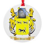 Allen (England) Round Ornament