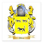Allen (England) Square Car Magnet 3