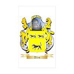 Allen (England) Sticker (Rectangle 50 pk)