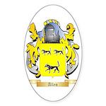 Allen (England) Sticker (Oval)