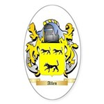 Allen (England) Sticker (Oval 10 pk)
