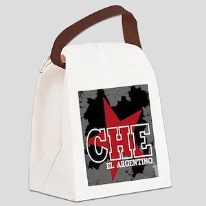 2-CHE EL ARG BLK Canvas Lunch Bag