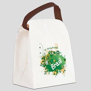 BRASIL RETRO 0 Canvas Lunch Bag
