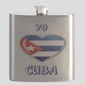 YO C CUBA 0 Flask
