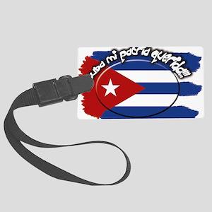 Cuba Large Luggage Tag