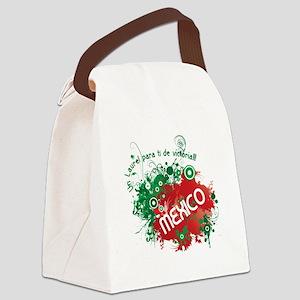 RETRO MEXICO 0 Canvas Lunch Bag
