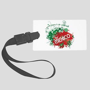 RETRO MEXICO 0 Large Luggage Tag