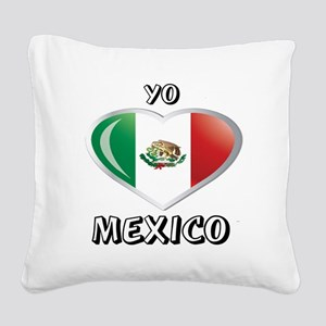 YO C MEXICO Square Canvas Pillow