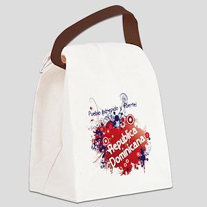 RETRO REPUBLICA DOMINICANA 0 Canvas Lunch Bag