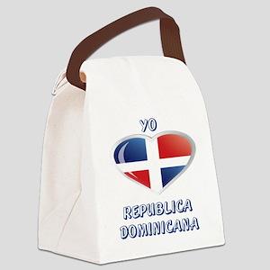 YO C REPUBLICA DOMINICANA 0 Canvas Lunch Bag
