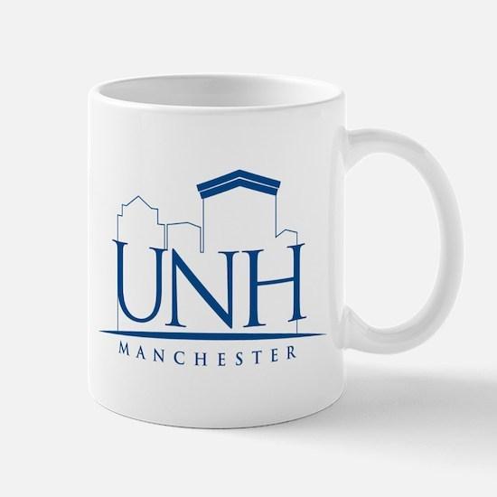 UNH Manchester Line Art logo Mug