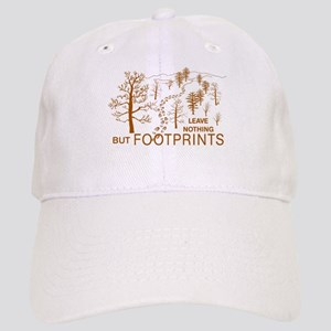 Leave Nothing but Footprints Brown Cap