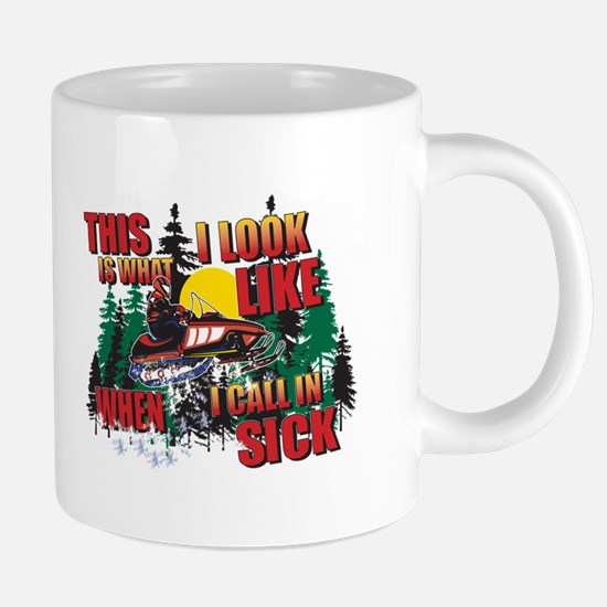 Snowmobiling is Life Live IT Mugs
