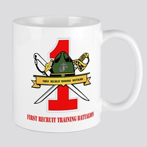 First Recruit Training Battalion with Text Mug