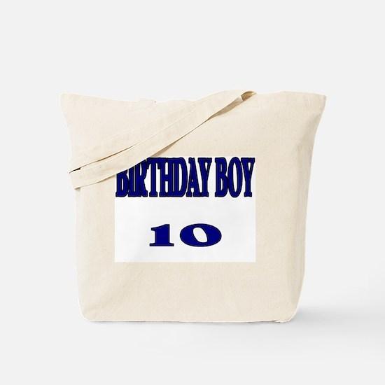 Birthday Boy 10 Tote Bag