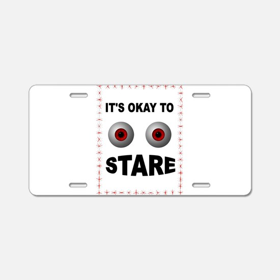 STARE Aluminum License Plate
