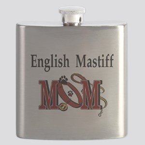English Mastiff Mom Flask