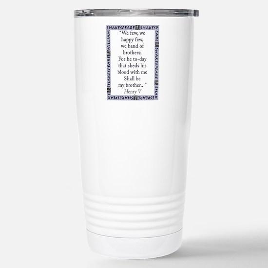 We Few, We Happy Few Mugs