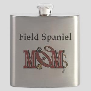 Field Spaniel Mom Flask