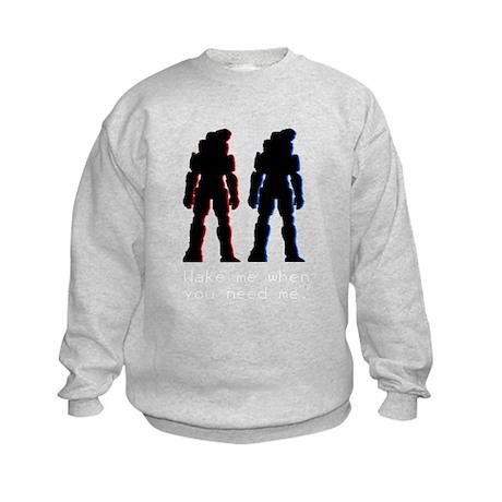Red and Blue Kids Sweatshirt