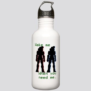 wakemewhenyouneedme Stainless Water Bottle 1.0L