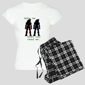 wakemewhenyouneedme Women's Light Pajamas