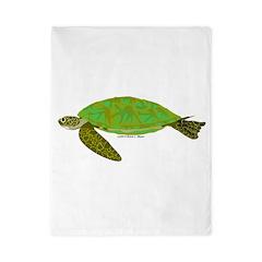Green Sea Turtle Twin Duvet