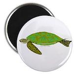 Green Sea Turtle Magnet