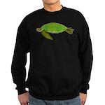 Green Sea Turtle Sweatshirt (dark)