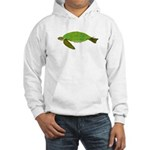 Green Sea Turtle Hooded Sweatshirt