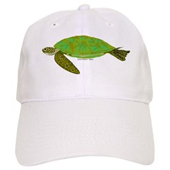 Green Sea Turtle Baseball Cap